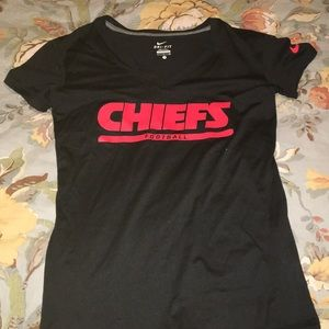Chiefs Football Nike Dri-Fit Workout Tee